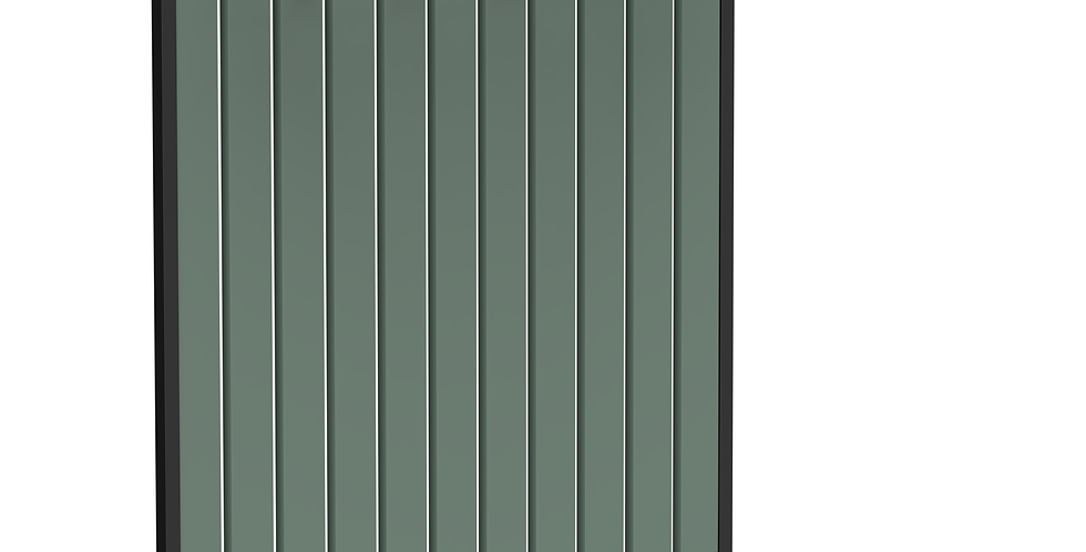Вешалка Rail зеленая