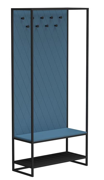 Прихожая Rhomb joint синяя