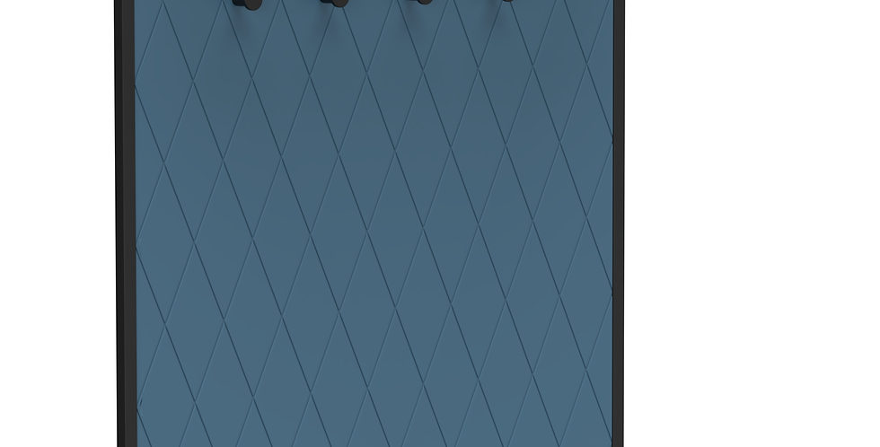 Вешалка Rhomb синяя