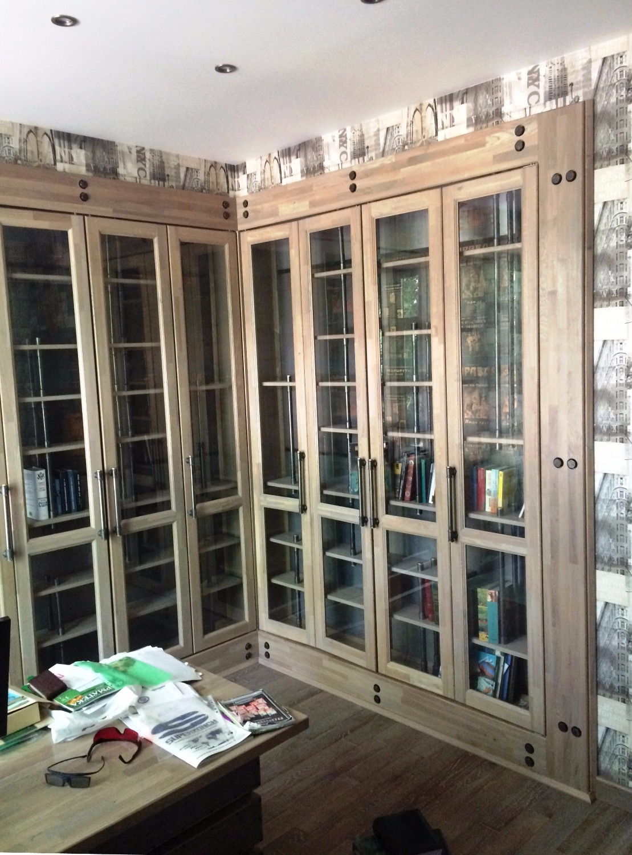 Библиотека в стиле лофт