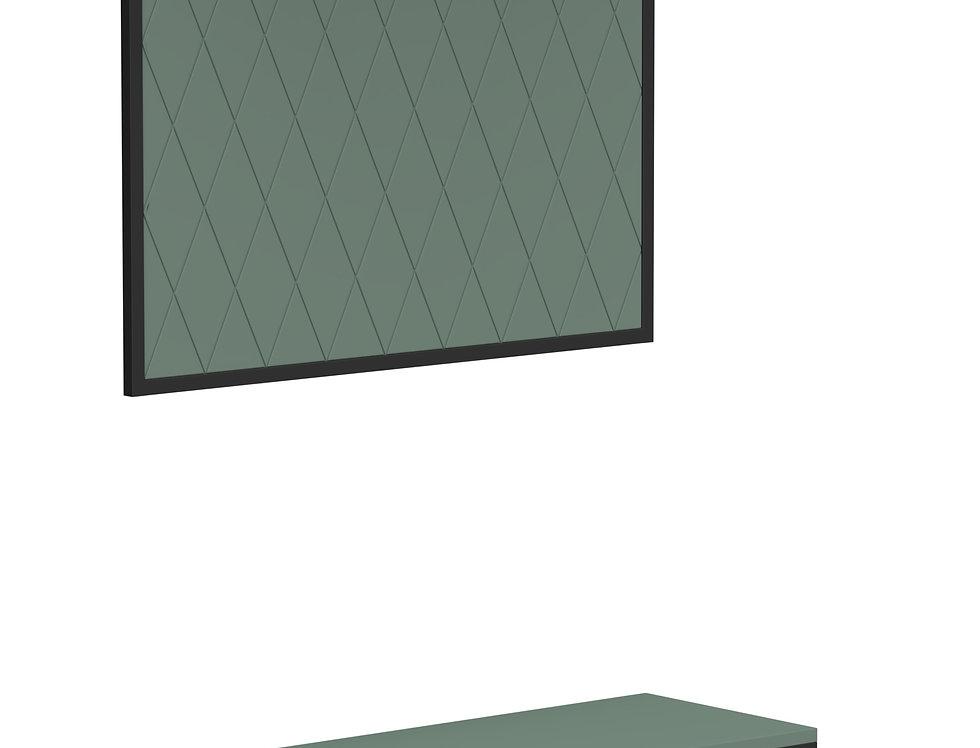 Комплект прихожей  Rhomb зеленый