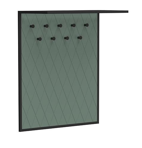 Вешалка Rhomb  зеленая