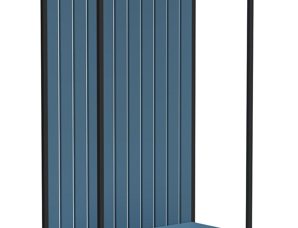 Прихожая Rail joint синяя