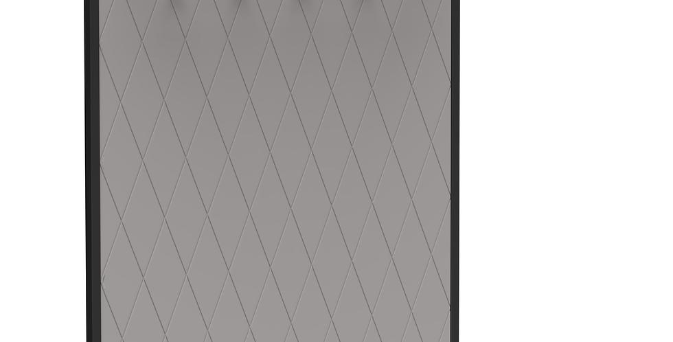 Вешалка Rhomb  серая