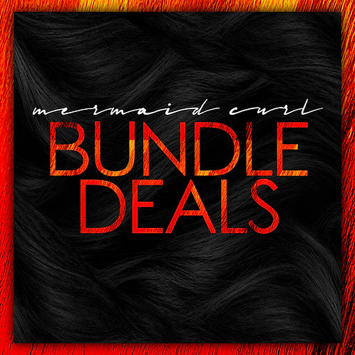 MERMAID CURL BUNDLE DEALS