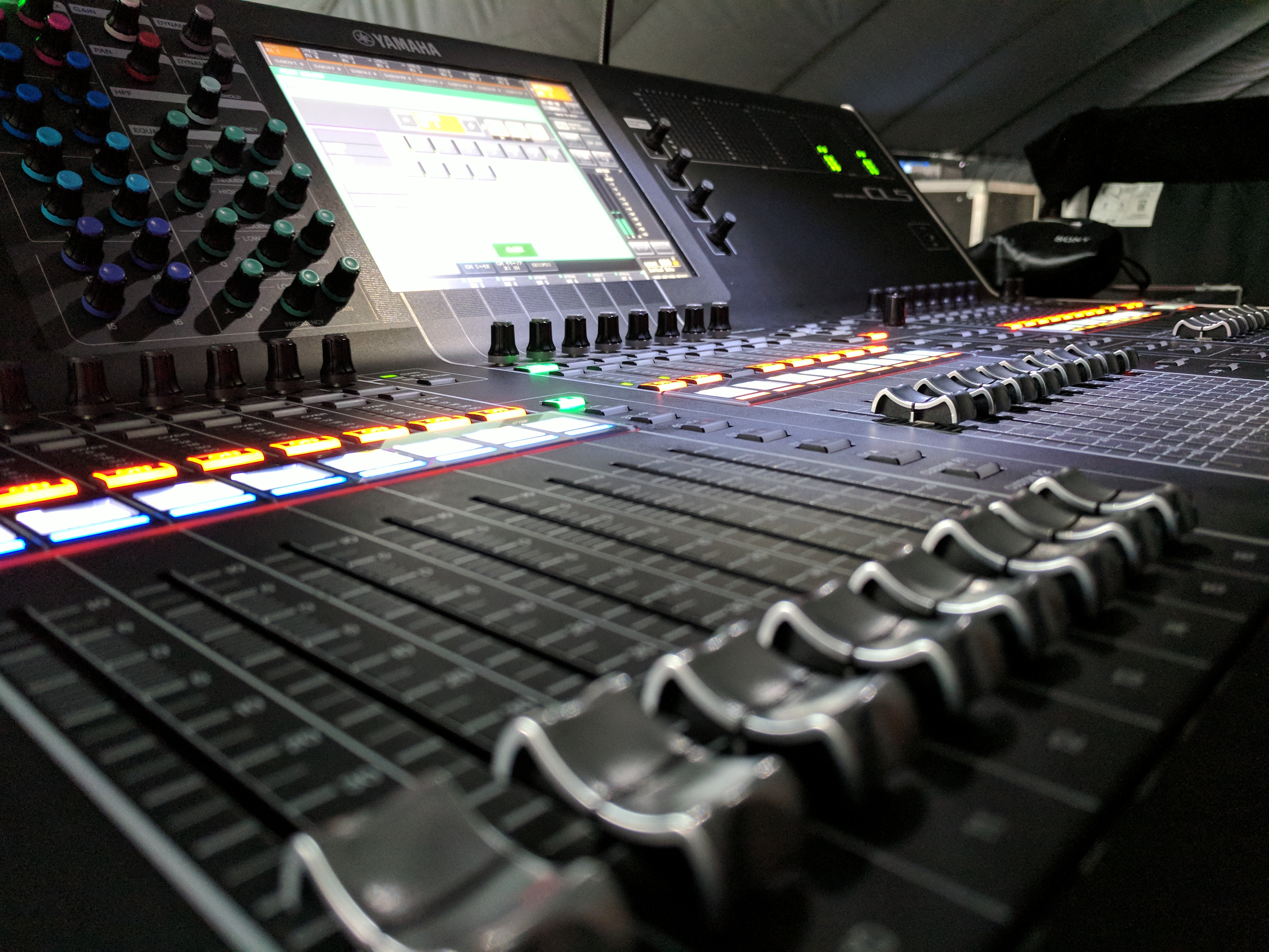 digital audio, live event, outdoor,