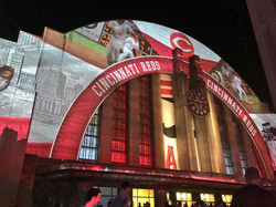 MLB All Star Gala Projection Mapping