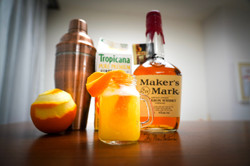 Whiskey Sour with a twist