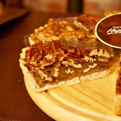 Maple Pecan Pie Slice
