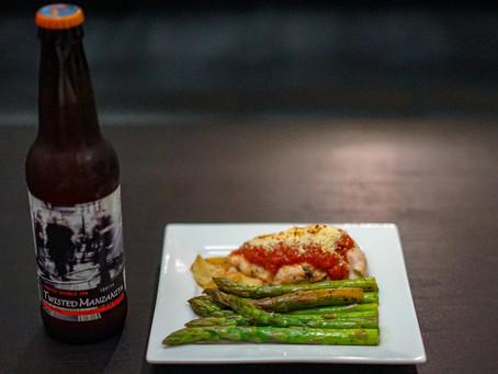 Chicken Parmesan & Asparagus: A Quick Recipe