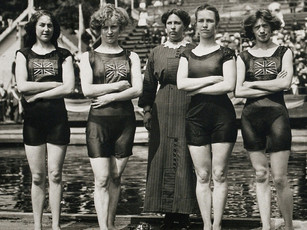 Tank Tops, Swimsuits, & The 1912 Olympics