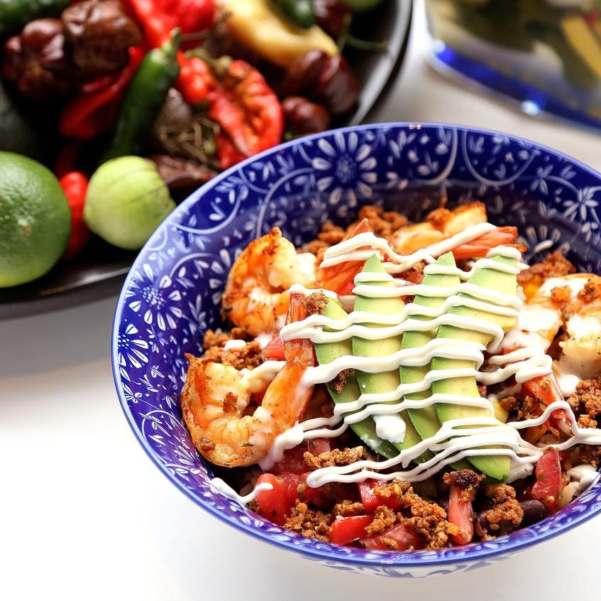 """Jalisco """"West Coast"""" Shrimp Bowl"""