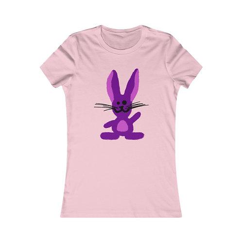 Pink Bunny Slim Women's Tee