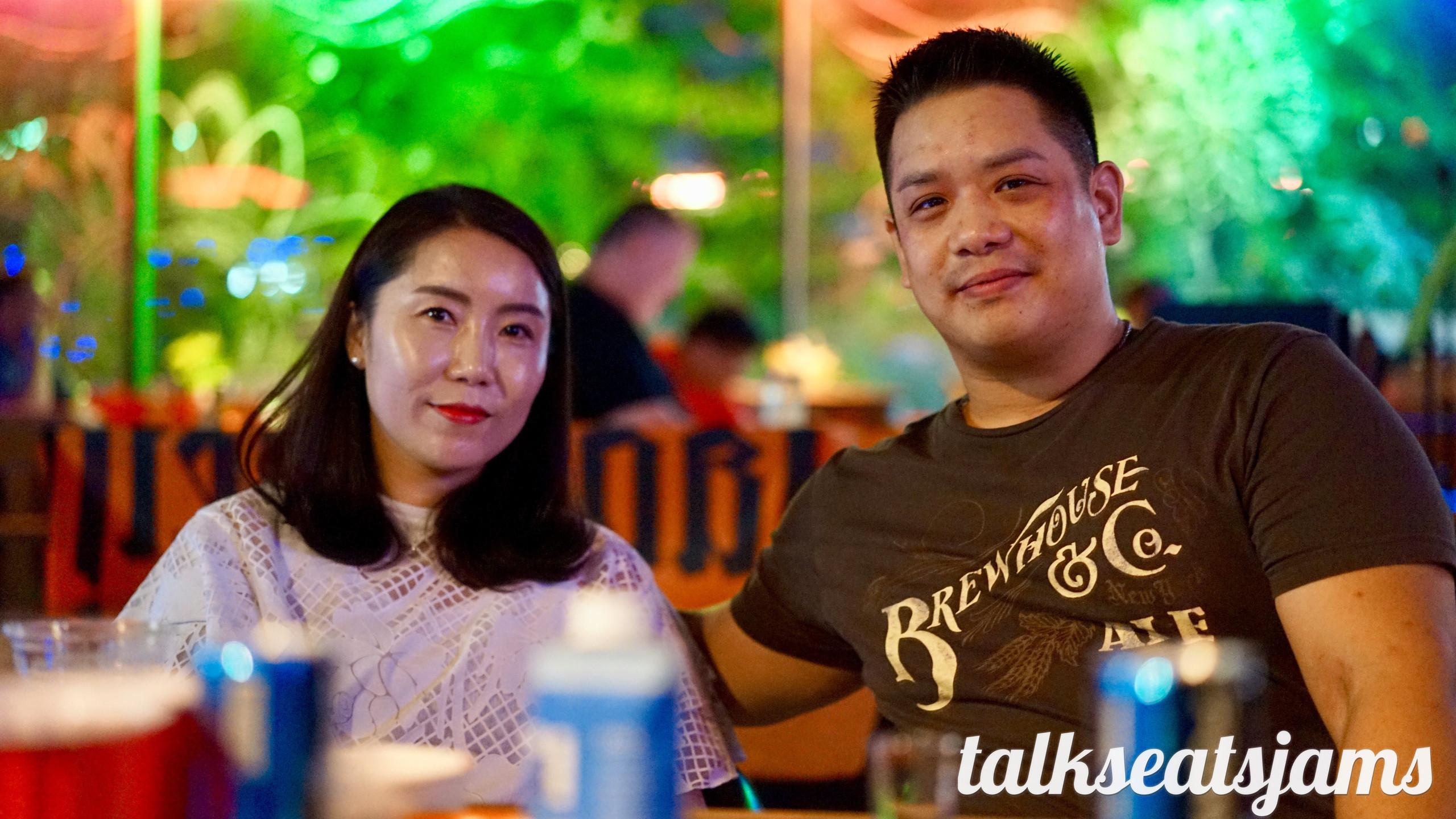 Jepu Teacher and Wife