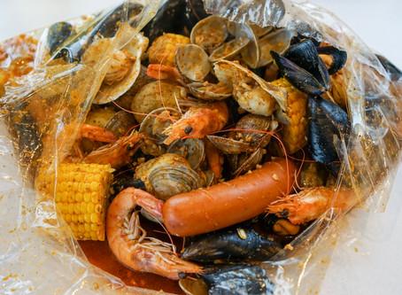 Boiling Crab & Shrimp in Itaewon