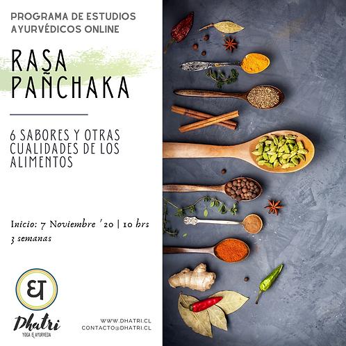 """""""Rasa Pañchaka, 6 sabores y cualidades de los alimentos"""""""