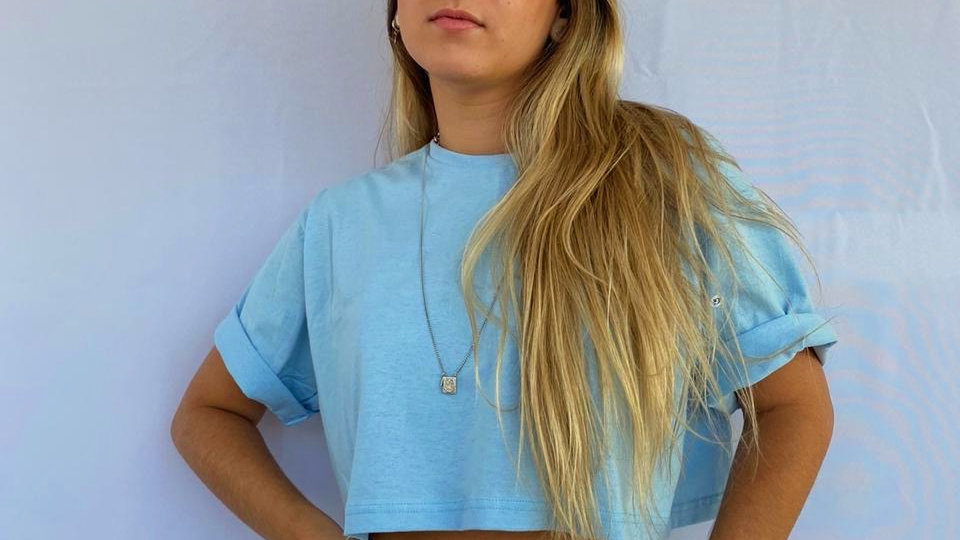 Blusa Lala Azul