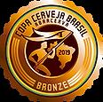 Medalha de Bronze Copa Cerveja Brasil Abracerva 2019