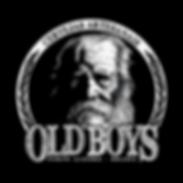 old boys logotipo logo velho
