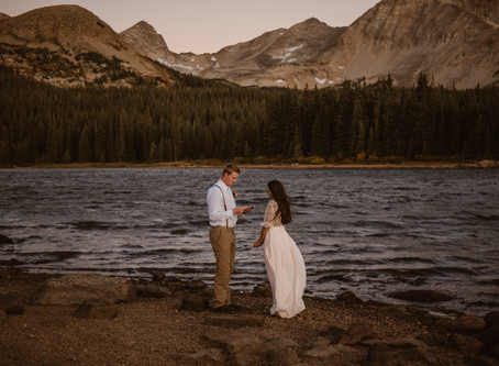 Best 5 Places To Elope in Colorado!