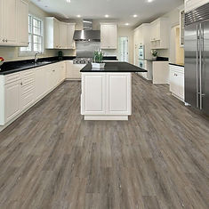 Luxury vinyl plank, kitchen floors