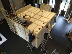 Aufbau Laborthheater