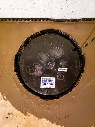Interior basement waterprofing