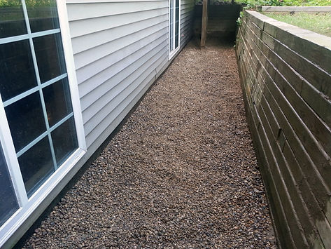 Outside exterior waterproofing