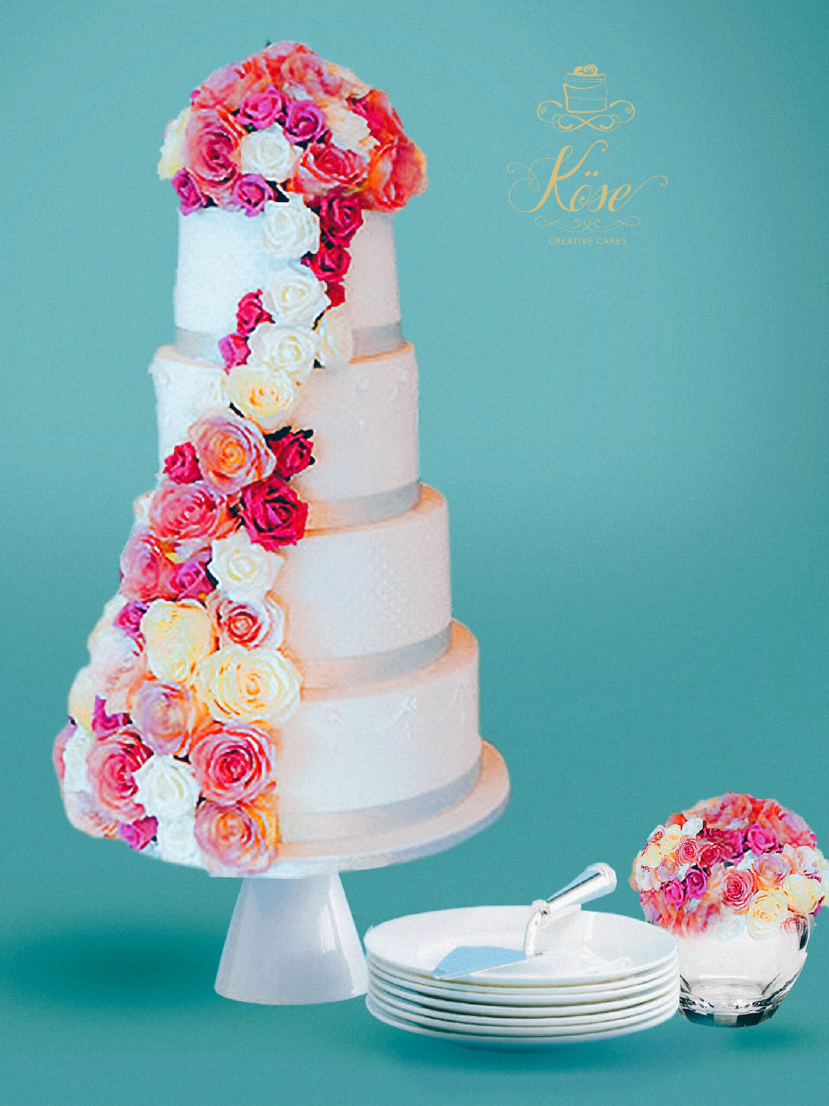 Bespoke Wedding Cakes From Kose Creative Cakes | Order Cakes Online Delivery  | United | Kose Creative Cakes