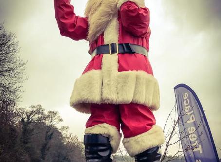 Waving Santa update -he'll be back!