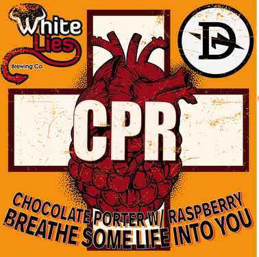 CPR Chocolate Porter w/ Raspberry. Breath some life into you.