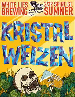 South German Kristal Weizen  5.4% ABV Trophy Winner QLD Royal QLD Beer Wards 2019, Gold Medal – Royal QLD Beer Awards 2019. A refreshing wheat beer accentuated by big banana and bubble gum notes in the aroma, balanced with clove and spice notes. Drink deep for a dry refreshing finish.