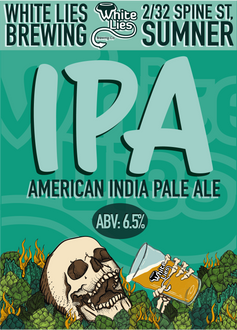 American India Pale Ale 6.5% ABV Silver Medal – AIBA 2017 Bronze Medal – AIBA 2015. Crystal and Munich malts give our IPA its golden colour and late kettle hopping guarantees plenty of bitterness, with passionfruit and citrus characters on the palate. The beer is dry hopped to produce a similarly striking aroma.