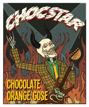 The sour and salty style, known as Gose, has been given a chocolate and orange treatment. The brewers say they only used ingredients found in the 'nine circles of hell'. We'll have to take their word for it. Brewed for #GABS2018