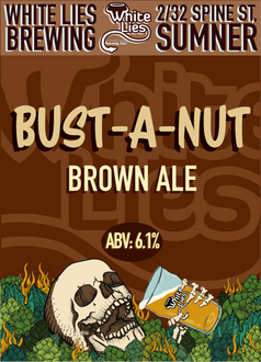 American Brown Ale 6.1% ABV Silver Medal – AIBA 2015, Bronze Medal AIBA 2019  This big bold malty brown ale is paired with hazelnut and vanilla to create a smooth and well rounded beer that delivers aroma and flavour.