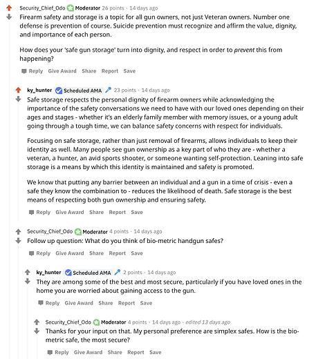 Example of Reddit Marketing