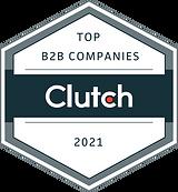 Clutch badge top b2b companies