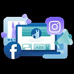 Illustration for Facebook and Instagram Marketing Guide