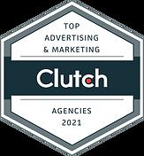 Clutch badge top advertising & marketing agencies