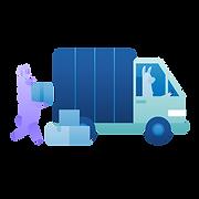 moving services marketing illustration