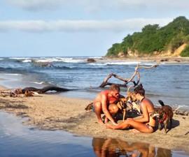 Karina and Guest on the beach.jpg