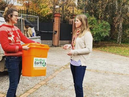 Emprendedores locales apuestan por reciclaje a domicilio