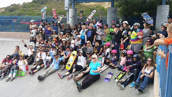 skateboard moms  & sisters of shred char