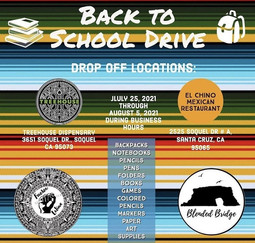 Back to School Drive Flyer 2021