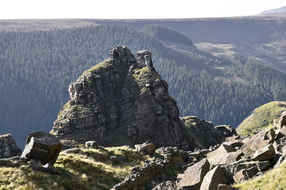 Alport Castles - Peak District