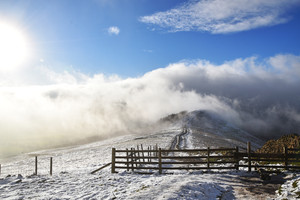 Mam Tor, The Great Ridge and Castleton
