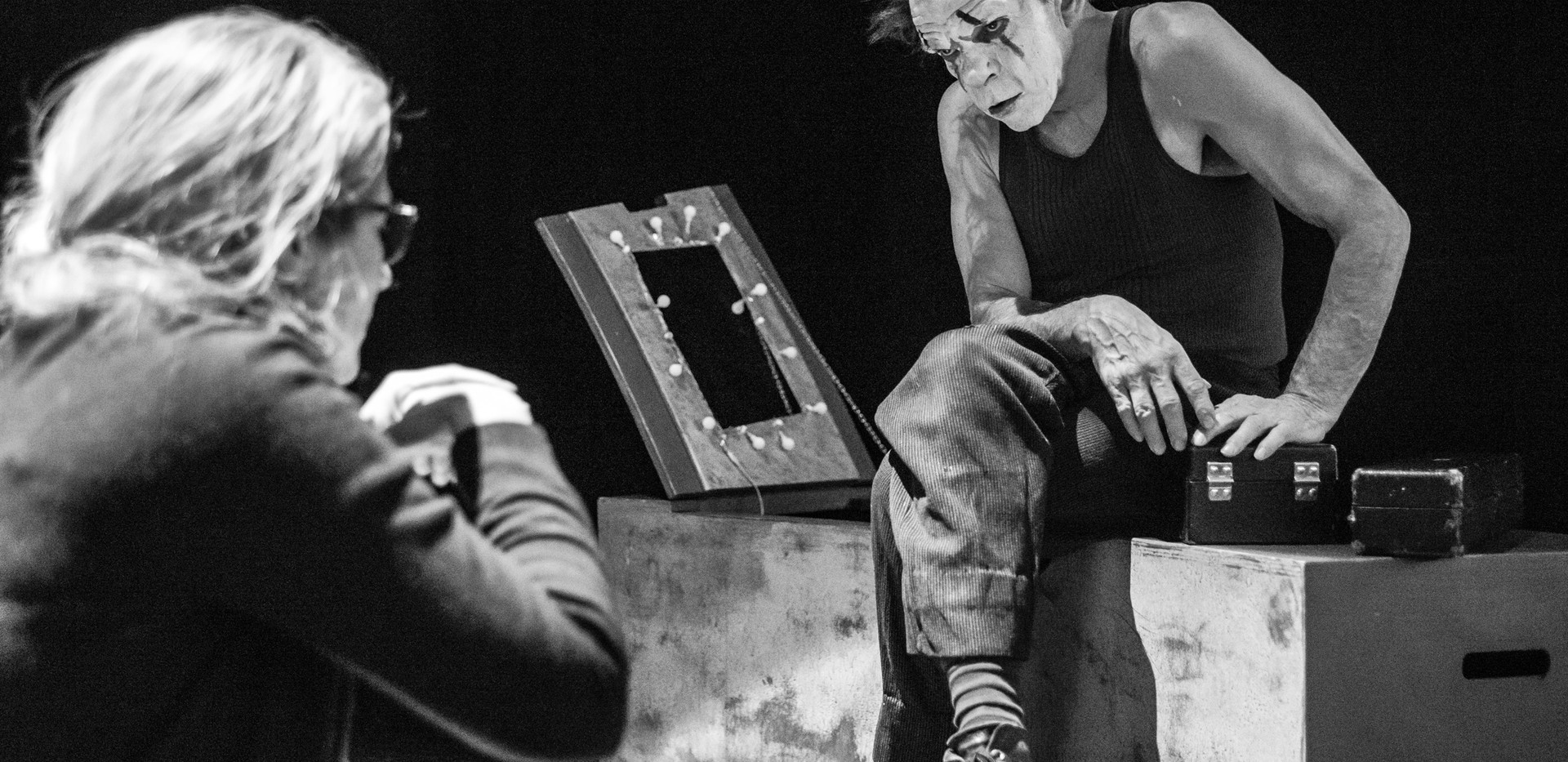 Denis Lavant - Coulisses des Théâtres - 2019