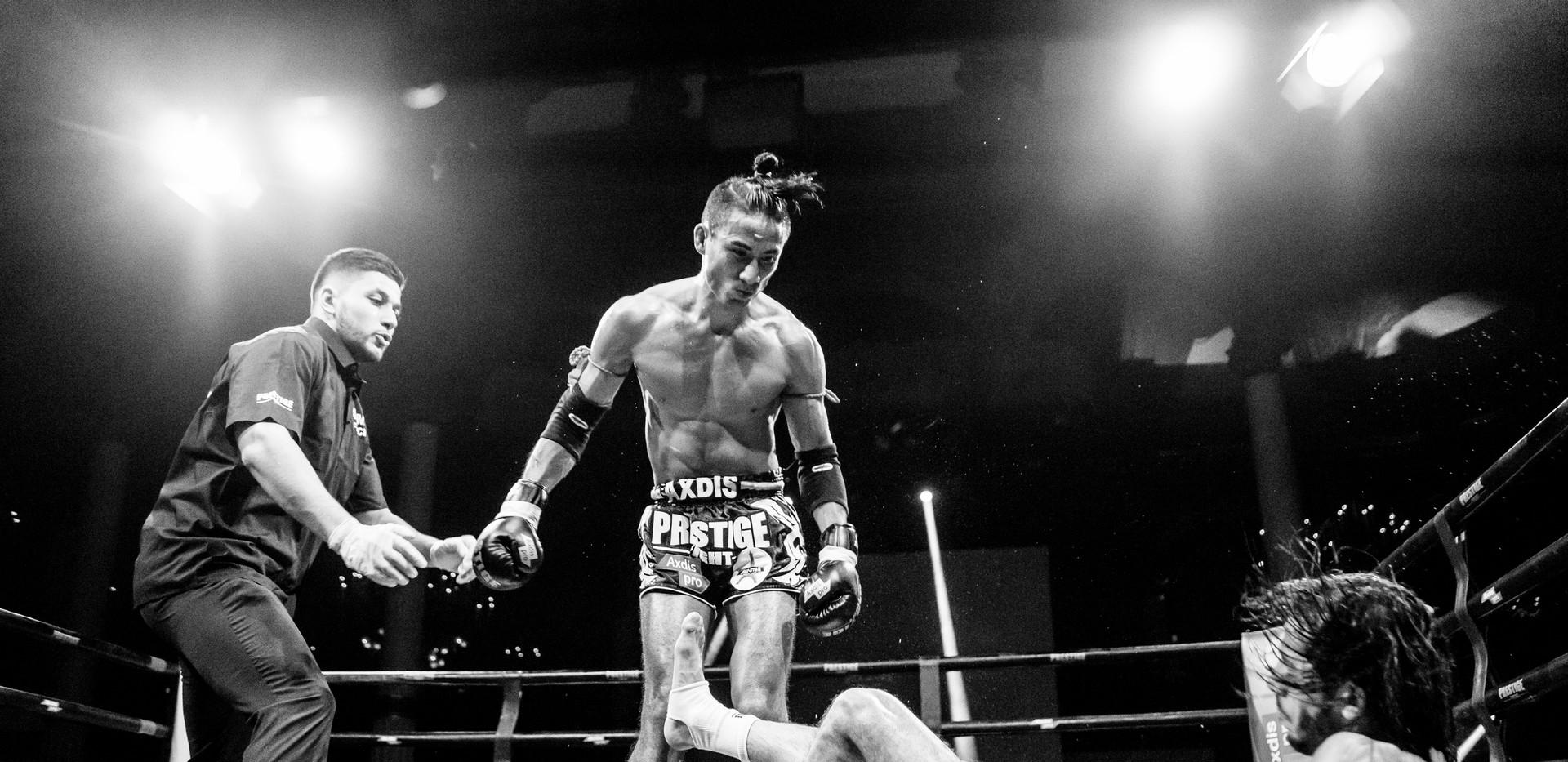 Boxe Thai - Salle Wagram (Paris) - 2016