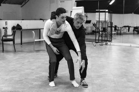 Jacques GAMBLIN et Bastien LEFEVRE - 1h23'14 et 7 centièmes - Théâtre du Rond Point