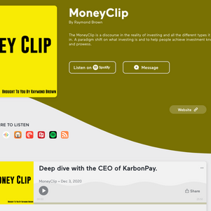 Money Clip Podcast with CEO